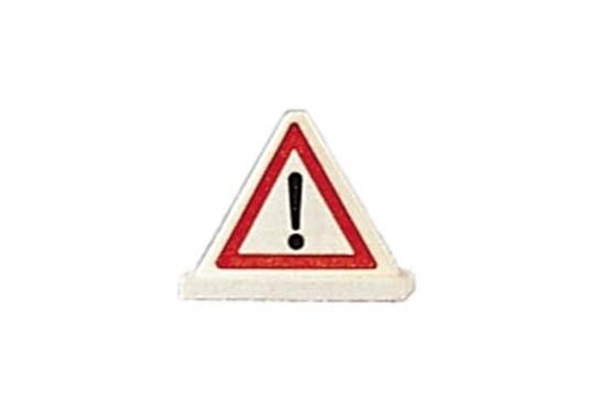 Kleine houten gevaren driehoek