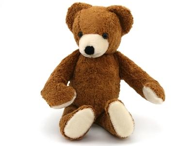 Afbeeldingen van Teddy beer in bio-katoen