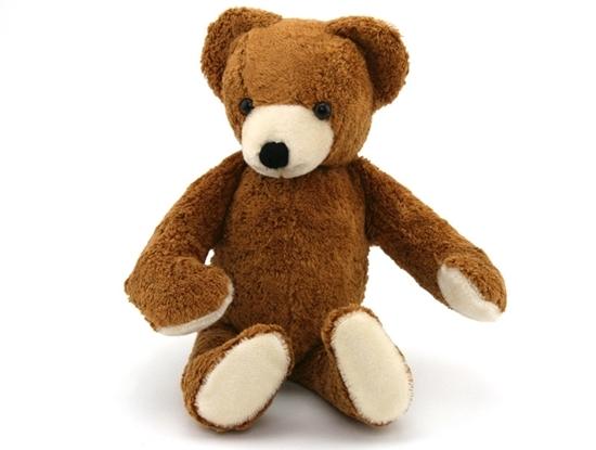 Afbeelding van Teddy beer in bio-katoen
