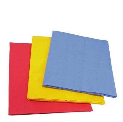 Afbeeldingen van Groot speeldoek (rood, blauw of geel)