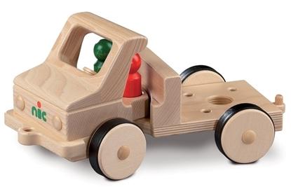 Afbeeldingen van Houten vrachtwagen  model kort