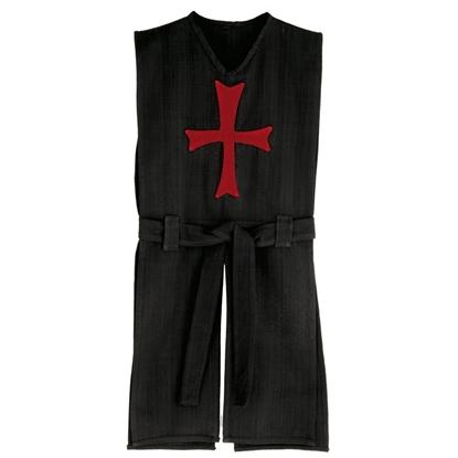 Afbeeldingen van Zwart ridderkleed Tempelier