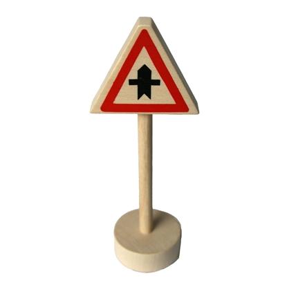 Afbeeldingen van Houten verkeersteken voorrang