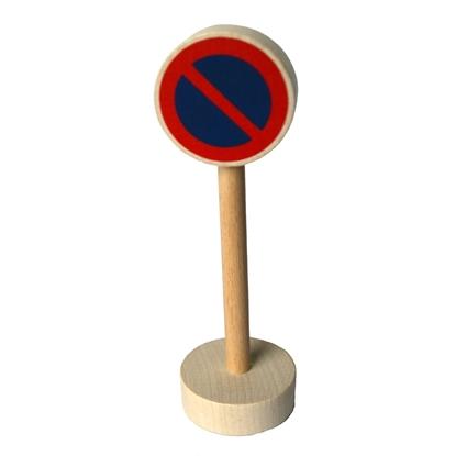 Afbeeldingen van Houten verkeersteken verboden te parkeren