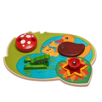 Afbeeldingen van Baby activiteitencenter zwemmende eendjes