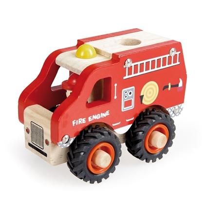 Afbeeldingen van Houten brandweerwagen