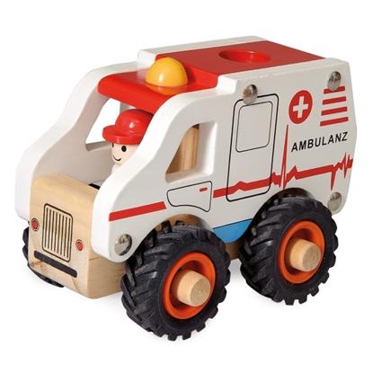 Afbeeldingen van Houten ambulance