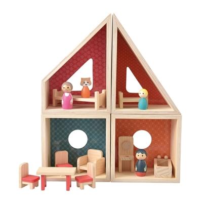 Afbeeldingen van Modulair poppenhuisje