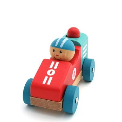 Afbeeldingen van Baby racewagen met toeter